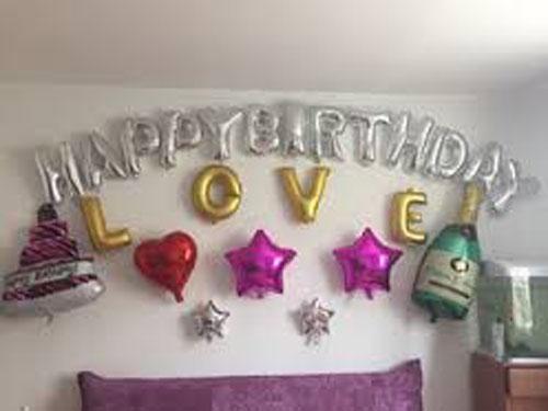 Bóng trang trí sinh nhật ch bạn gái