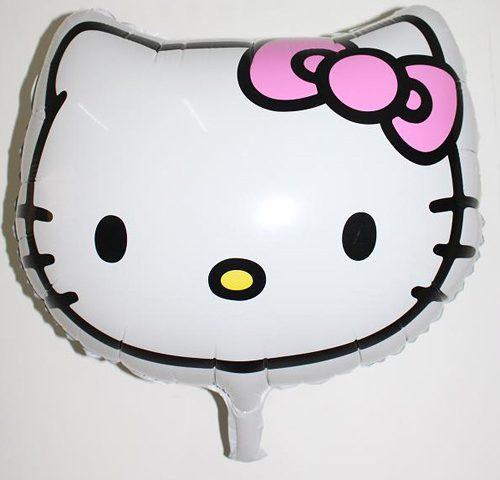 Bóng sinh nhật đầu kitty lớn
