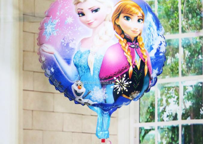 Bóng sinh nhật hình công chúa elsa