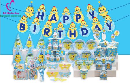 phụ kiện trang trí sinh nhật cute cho bé trai tuổi gà