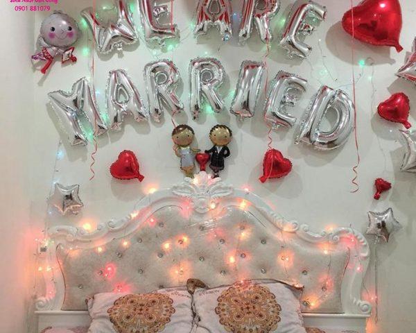 Set bóng tiệc cưới 24