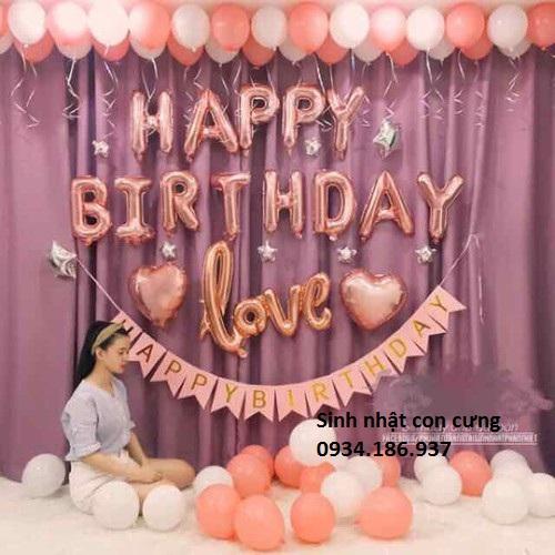 Set bóng sinh nhật bạn gái