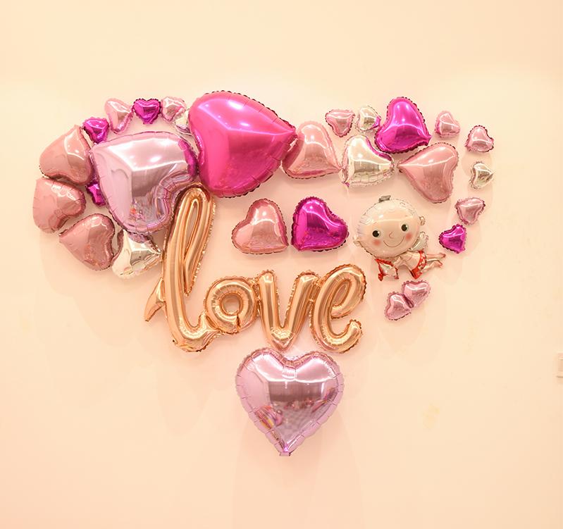 Bóng-trang-trí-valentine