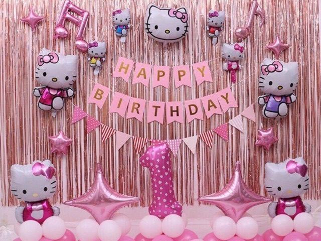 Trang trí sinh nhật cho bé gái dễ thương